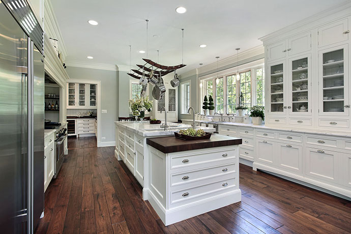 Photo showcasing a kitchen remodel in Danbury, Connecticut.