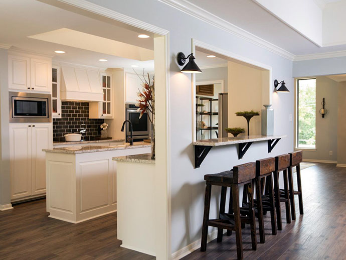 Photo showcasing a kitchen remodel in Somers, New York.